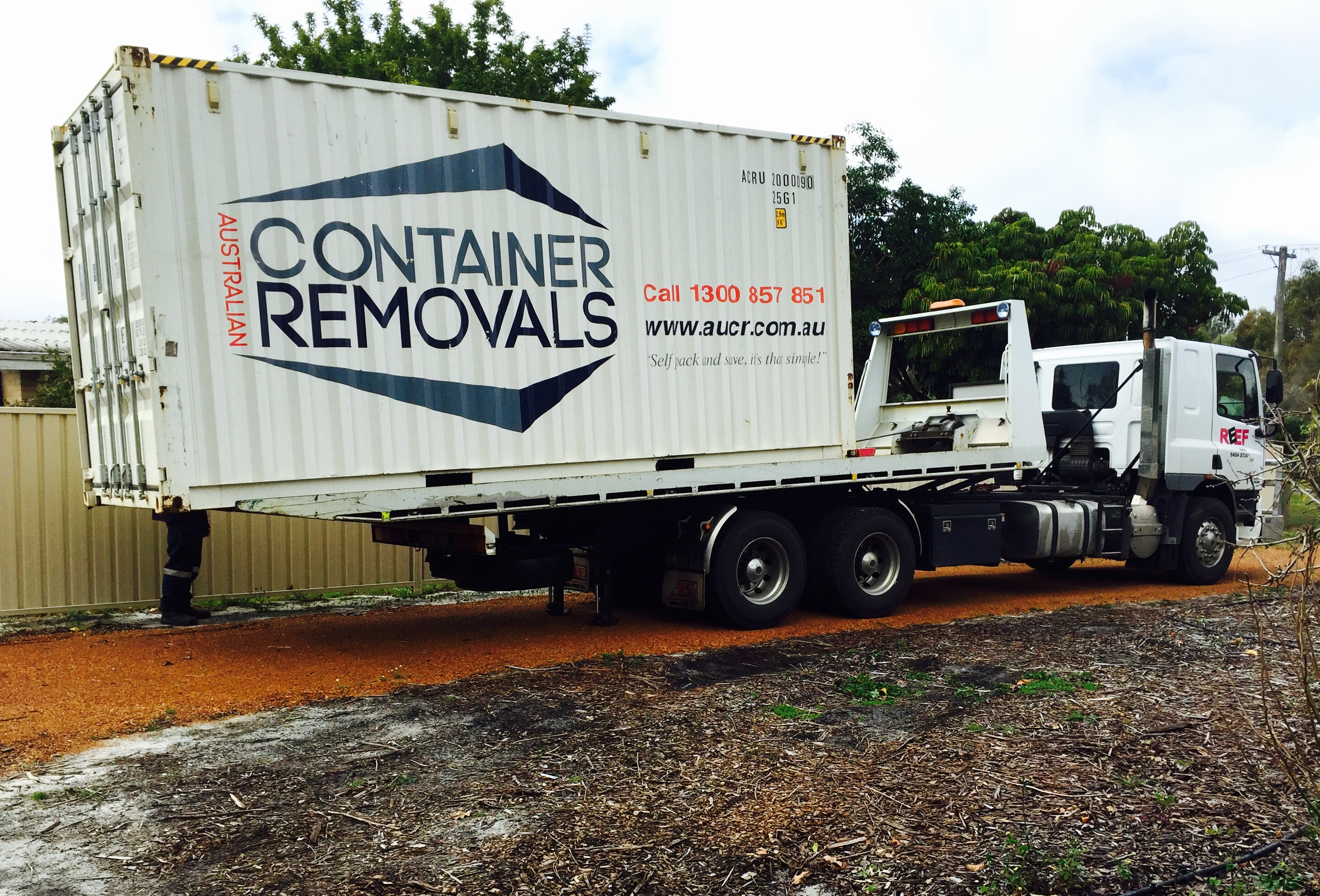 Interstate Container Moving - Australian Container Removals