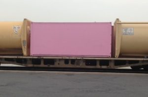 Pink Shiping Container Customers Own