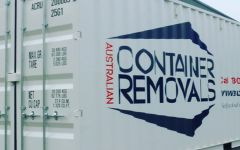Shipping Container Removals